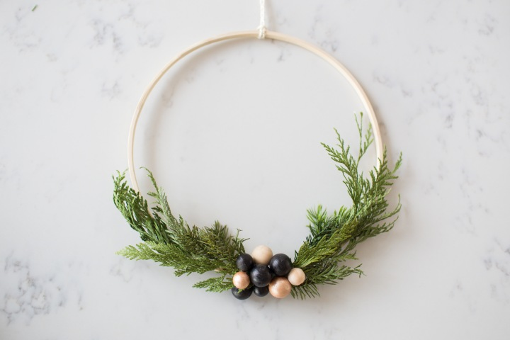 crafting with grown ups: SCANDI INSPIRED WREATH