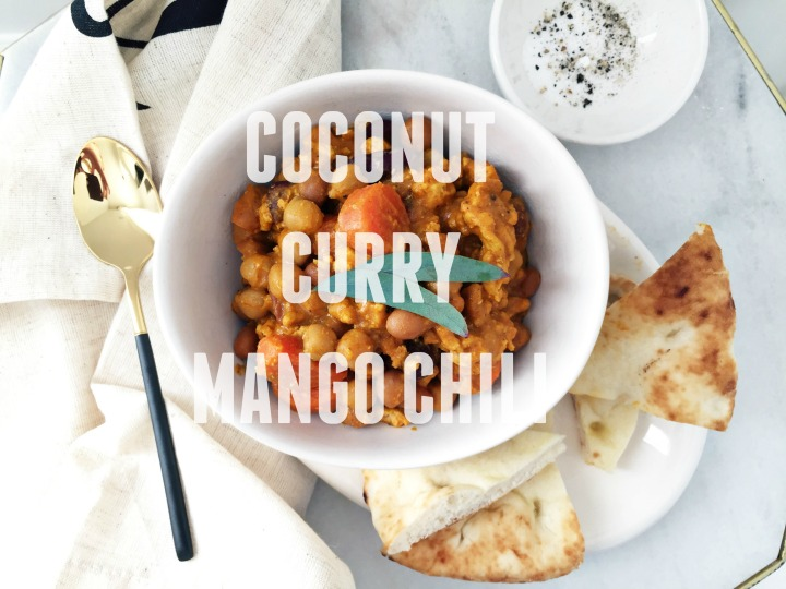 COOKING WITH KIDS: COCONUT CURRY MANGO CHILI