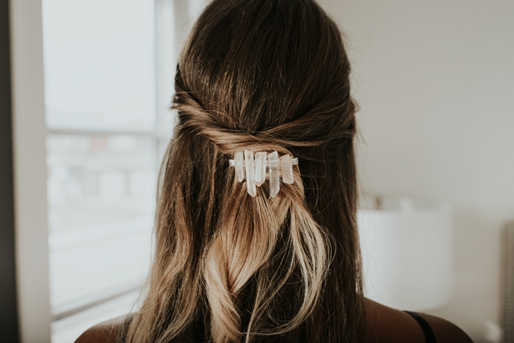 MAKE: DIY Crystal Hair Clips + 3 Ways to Wear Them!