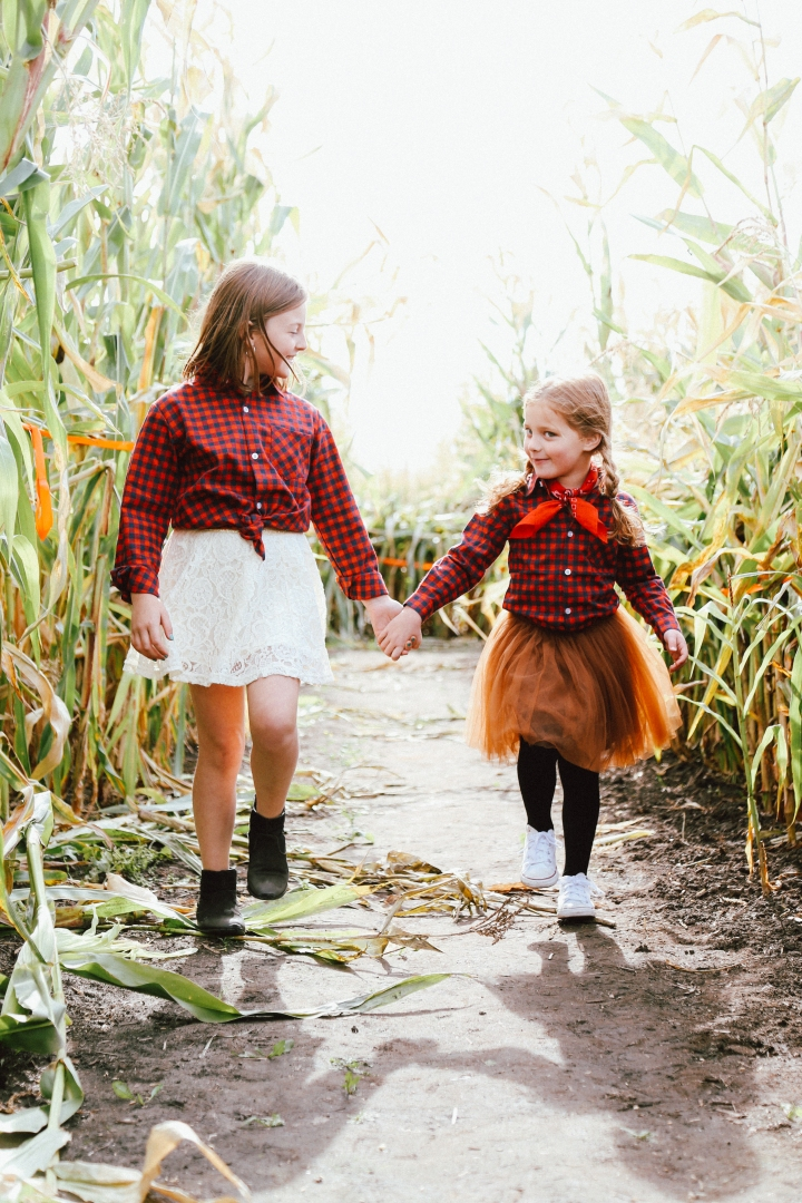Dressing With Kids: DIY Halloween 'Lumber-Jill' Costume
