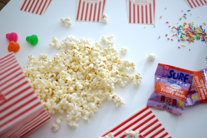 DIY Popcorn Bar & A [GATHER] Movie Night Recap